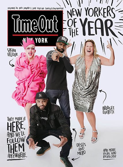 Time Out New York Cover - 12/20/2017