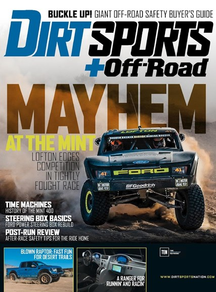 Dirt Sports & Off-Road Cover - 8/1/2015