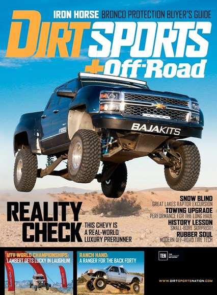 Dirt Sports & Off-Road Cover - 8/1/2016