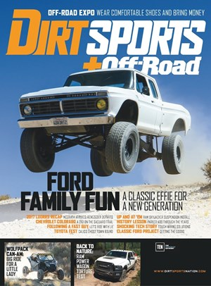 Dirt Sports + Off Road Magazine | 3/1/2018 Cover