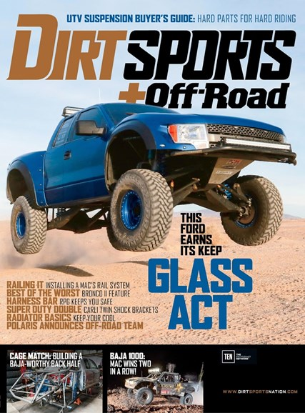 Dirt Sports & Off-Road Cover - 6/1/2016