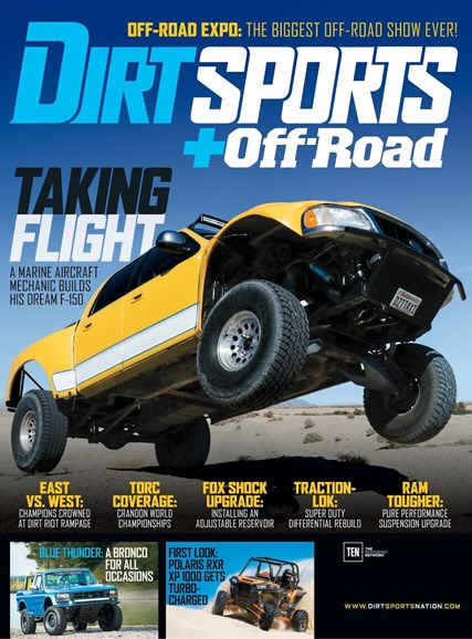 Dirt Sports & Off-Road Cover - 3/1/2016
