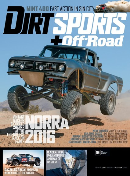 Dirt Sports & Off-Road Cover - 10/1/2016