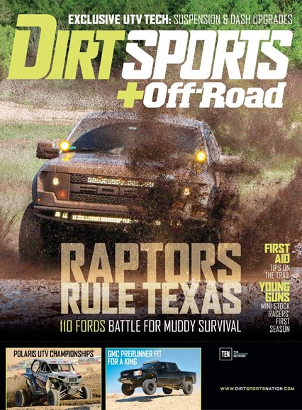 Dirt Sports & Off-Road Cover - 9/1/2015