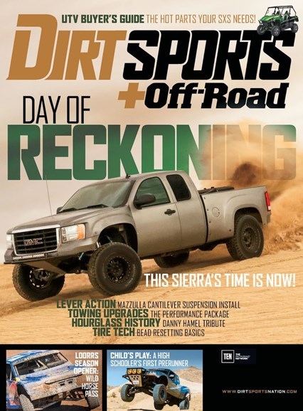 Dirt Sports & Off-Road Cover - 9/1/2016