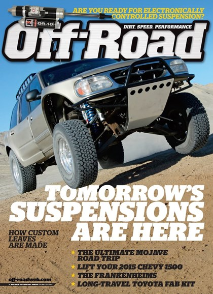 Dirt Sports & Off-Road Cover - 4/1/2014