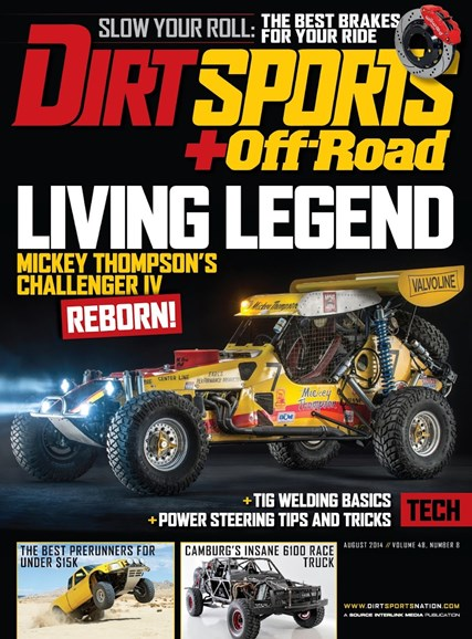 Dirt Sports & Off-Road Cover - 8/1/2014