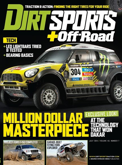 Dirt Sports & Off-Road Cover - 7/1/2014