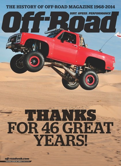 Dirt Sports & Off-Road Cover - 5/1/2014