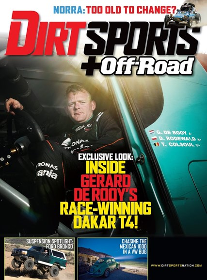 Dirt Sports & Off-Road Cover - 10/1/2014