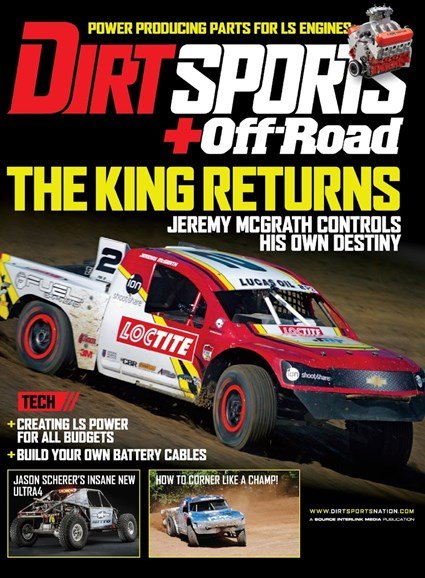 Dirt Sports & Off-Road Cover - 9/1/2014
