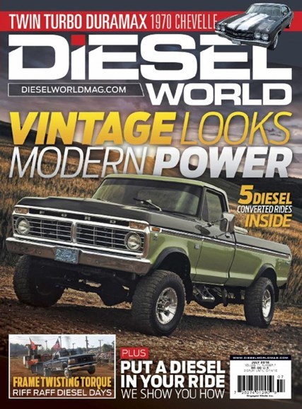 Diesel World Cover - 7/1/2016