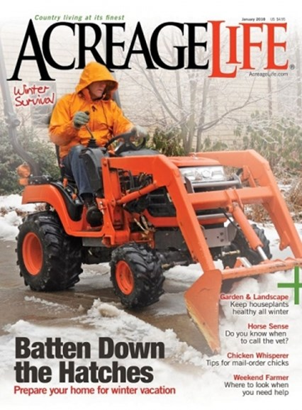 Acreage Life Cover - 1/1/2018