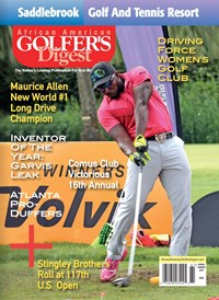 African Amercian Golfer's Digest   3/1/2017 Cover