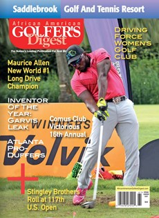 African Amercian Golfer's Digest | 3/2017 Cover