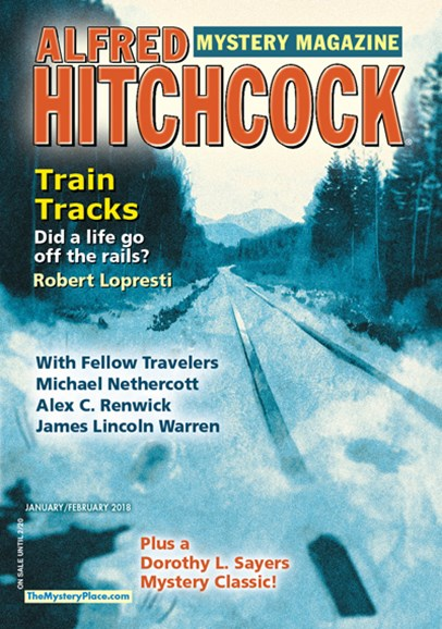 Alfred Hitchcock Mystery Magazine Cover - 1/1/2018