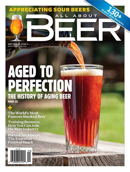 All About Beer Cover - 9/1/2016