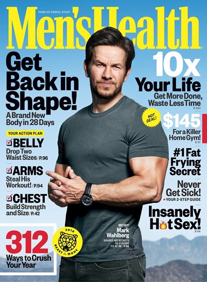 Men's Health Cover - 1/1/2018