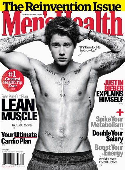 Men's Health Cover - 4/1/2015