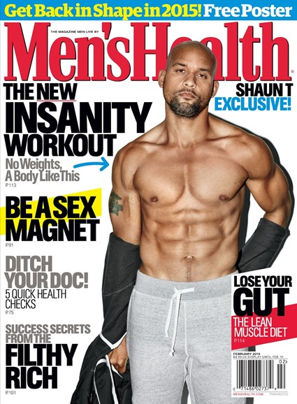 Men's Health Cover - 1/1/2015