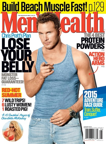 Men's Health Cover - 7/1/2015