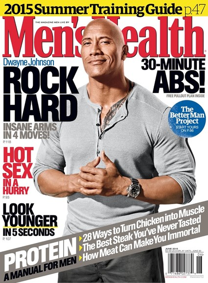 Men's Health Cover - 6/1/2015