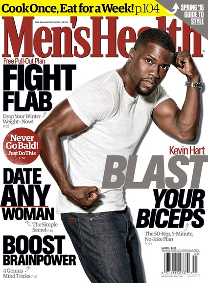 Men's Health Cover - 3/1/2015