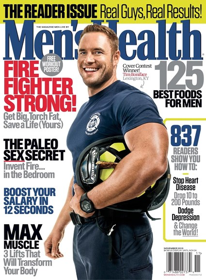 Men's Health Cover - 11/1/2015