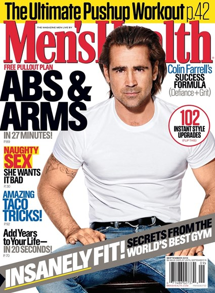 Men's Health Cover - 9/1/2015