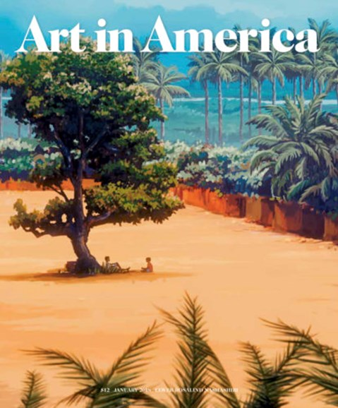 Art In America Cover - 1/1/2018