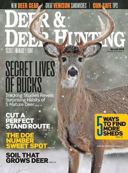 Deer & Deer Hunting Cover - 3/1/2018