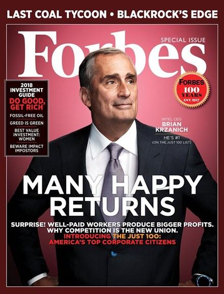 Forbes Cover - 12/26/2017