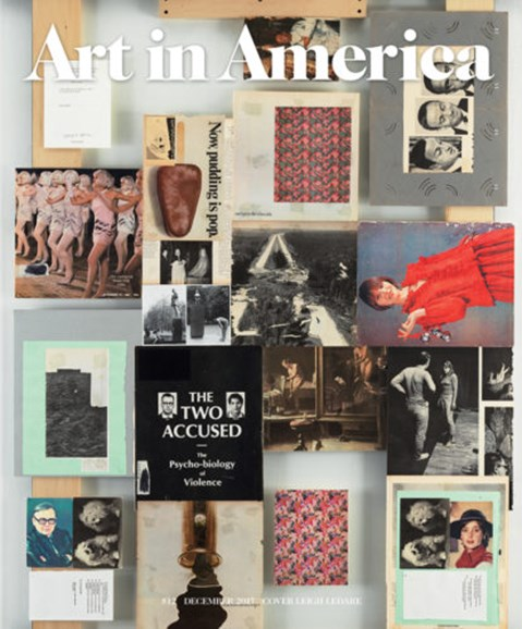 Art In America Cover - 12/1/2017