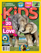 National Geographic Kids Magazine 2/1/2018