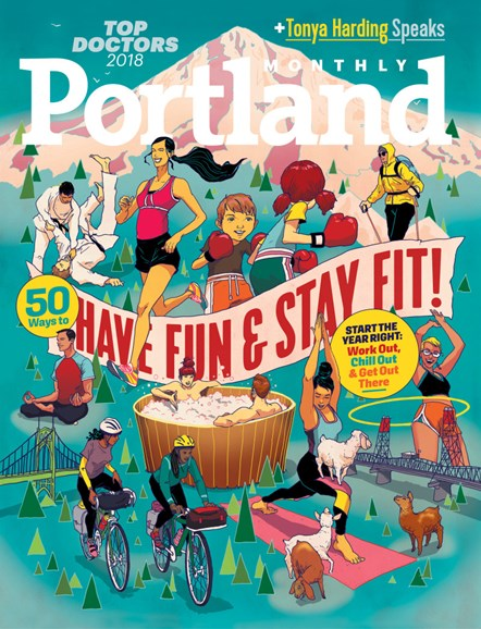 Portland Monthly Cover - 1/1/2018