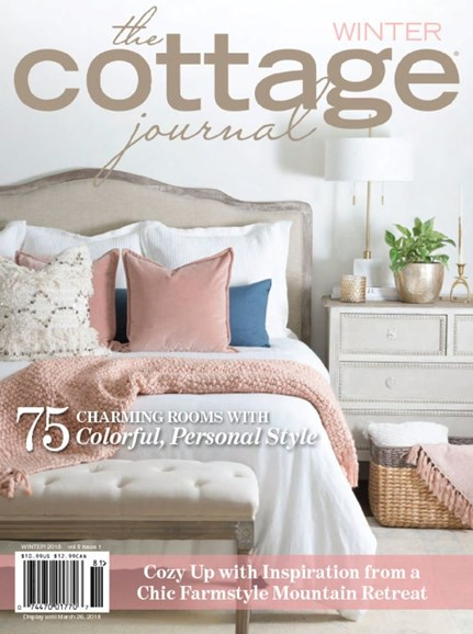 The Cottage Journal Cover - 1/1/2018