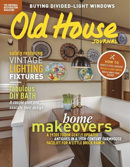 Old House Journal Cover - 1/1/2018