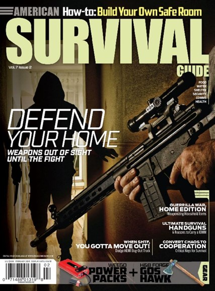 American Survival Guide Cover - 2/1/2018