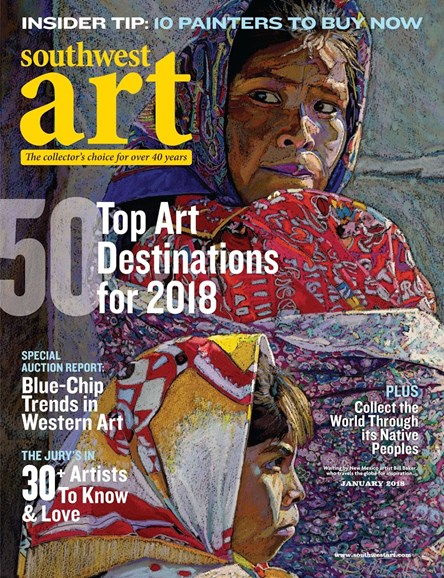 Southwest Art Cover - 1/1/2018