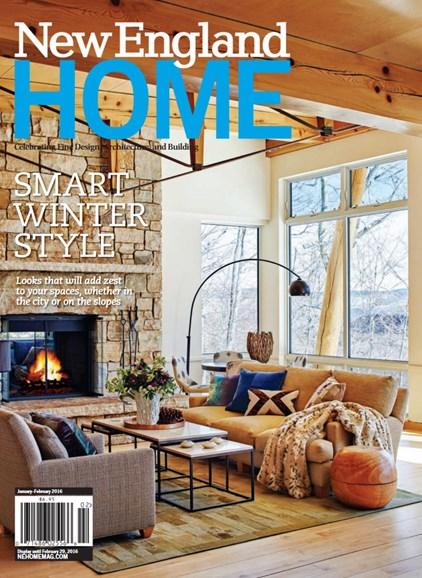 New England Home Cover - 1/1/2016