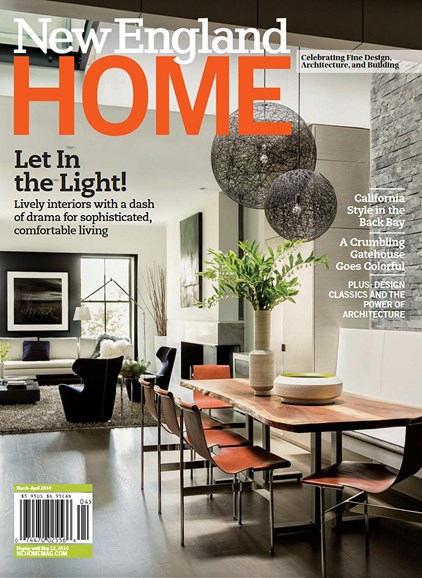 New England Home Cover - 3/1/2014