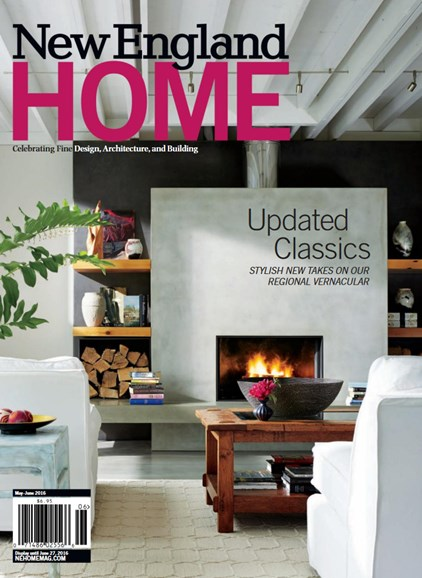 New England Home Cover - 5/1/2016