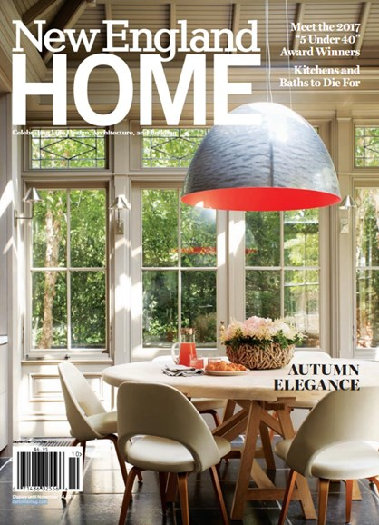 New England Home Cover - 9/1/2017