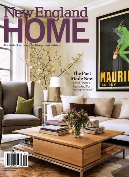 New England Home Cover - 1/1/2018