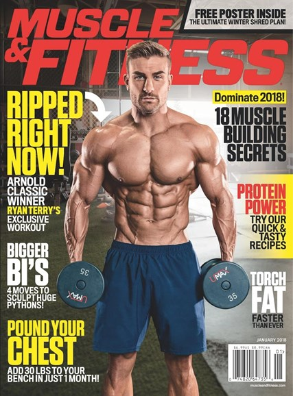 Muscle & Fitness Cover - 1/1/2018