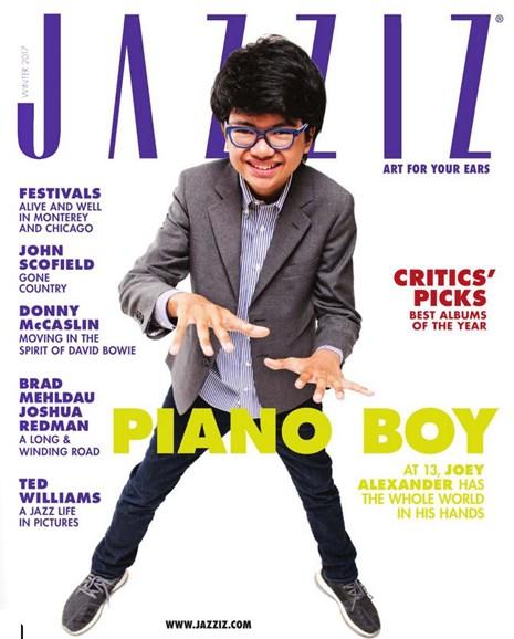 Jazziz Cover - 12/1/2016