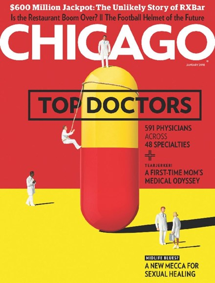 Chicago Magazine Cover - 1/1/2018