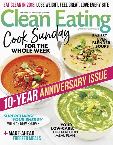 Clean Eating Cover - 1/1/2018