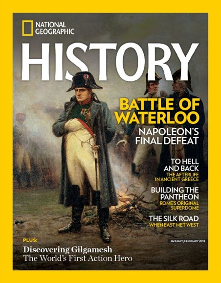 National Geographic History Cover - 1/1/2018