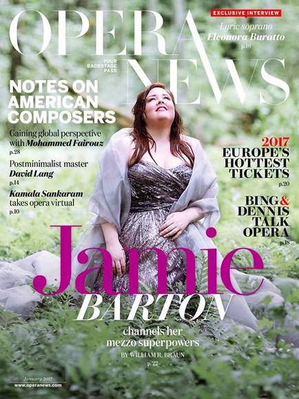 Opera News Cover - 1/1/2017